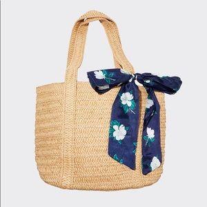 Draper James everyday straw bag NWT